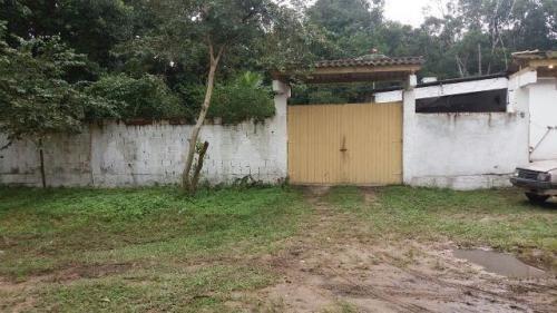 chácara com 2 dormitórios no litoral, itanhaém-sp, confira!