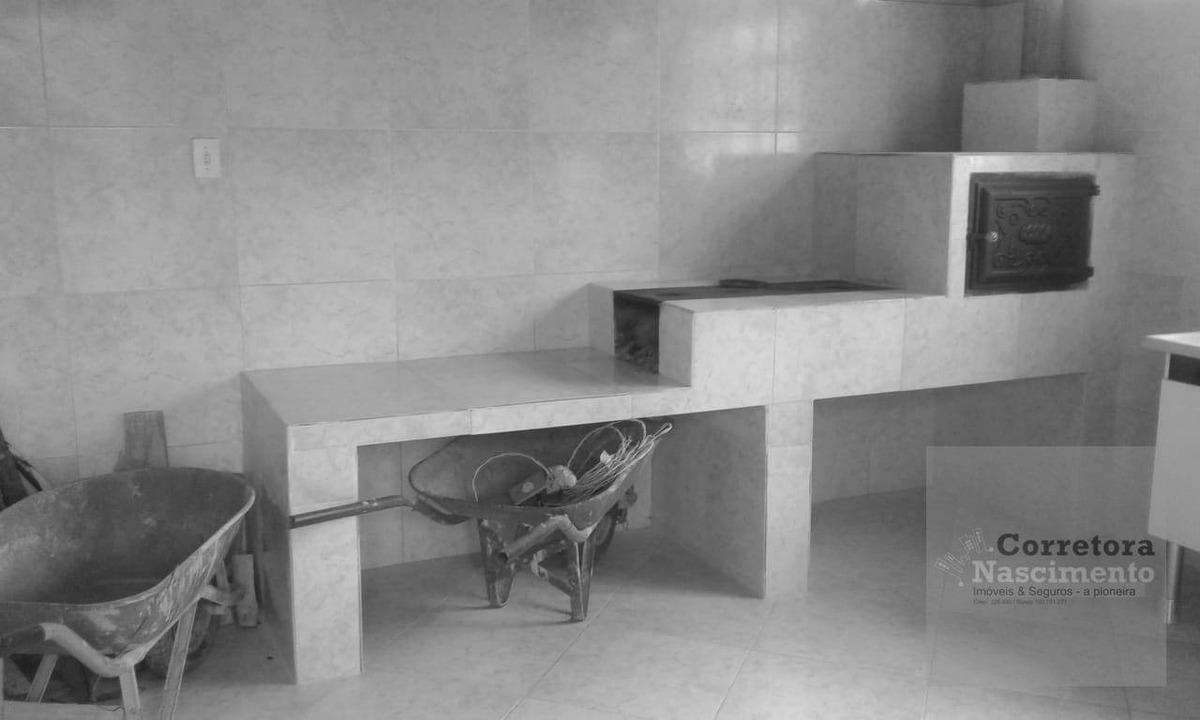 chácara com 2 dormitórios à venda, 1000 m² por r$ 160.000,00 - jardim colônia - jacareí/sp - ch0057