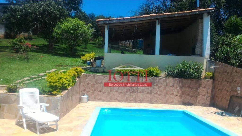 chácara com 2 dormitórios à venda, 1000 m² por r$ 260.000 - recreio são jorge - guarulhos/sp - ch0013