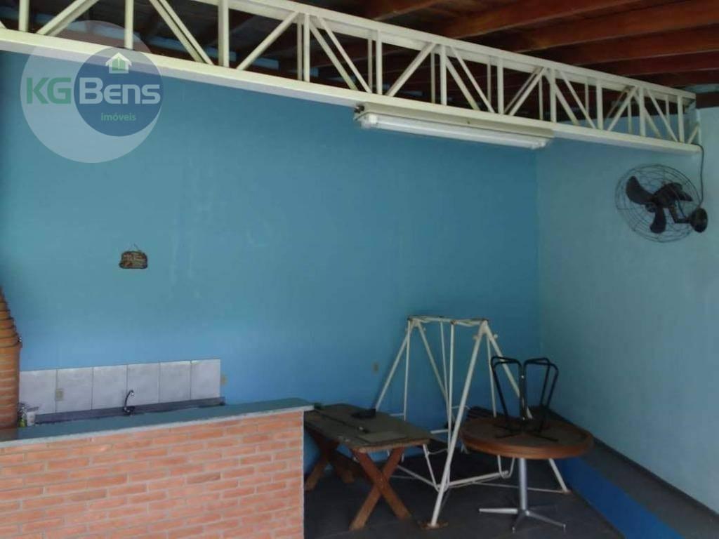 chácara com 2 dormitórios à venda, 1000 m² por r$ 530.000 - parque da represa - paulínia/sp - ch0025