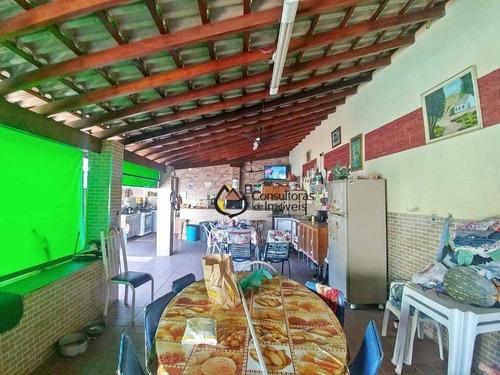 chácara com 2 dormitórios à venda, 1000 m² por r$ 585.000 - chacara itália - cosmópolis/sp - ch0012