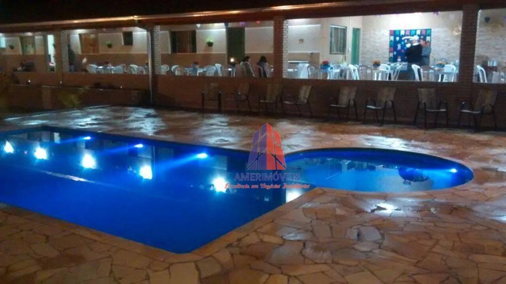 chácara com 2 dormitórios à venda, 1050 m² por r$ 680.000 - condomínio residencial santa monica - portal de são clemente - limeira/sp - ch0024