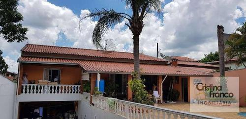 chácara com 2 dormitórios à venda, 1069 m² por r$ 580.000 - condomínio chácaras florida - itu/sp - ch0164