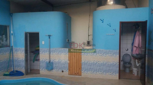 chácara com 2 dormitórios à venda, 1532 m² por r$  - pedro leme - roseira/sp - ch0109