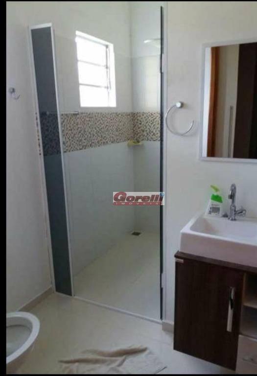 chácara com 2 dormitórios à venda, 1600 m² por r$ 540.000,00 - veraneio irajá - jacareí/sp - ch0087