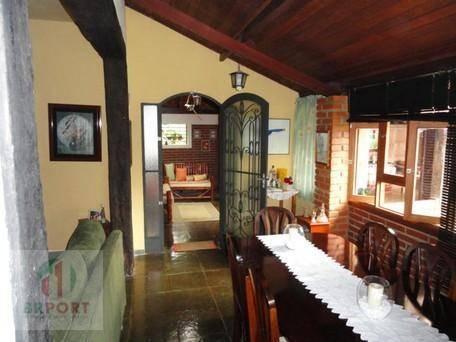chácara com 2 dormitórios à venda, 1800 m² por r$ 490.000,00 - remanso - cotia/sp - ch0005
