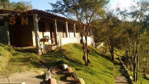 chácara com 2 dormitórios à venda, 2000 m² por r$ 150.000,00 - ouro fino - santa isabel/sp - ch0010