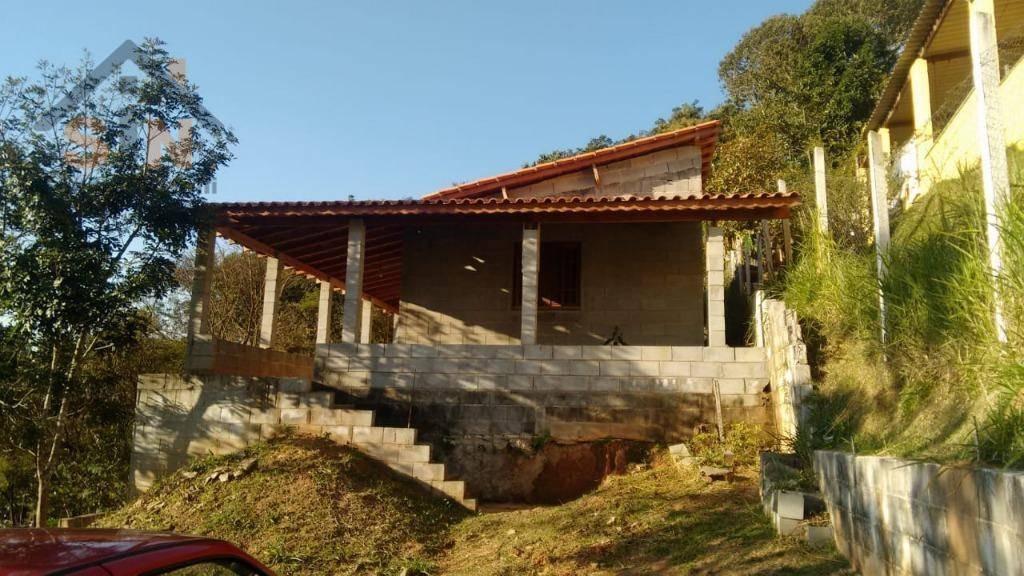 chácara com 2 dormitórios à venda, 2000 m² por r$ 170.000,00 - ouro fino - santa isabel/sp - ch0010