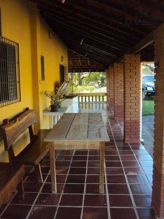 chácara com 2 dormitórios à venda, 2000 m² por r$ 550.000 - recanto dos dourados - campinas/sp - ch0331