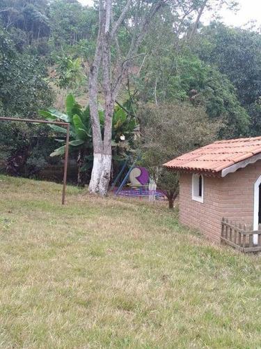 chácara com 2 dormitórios à venda, 2300 m² - jardim silvestre - suzano/sp - ch0049