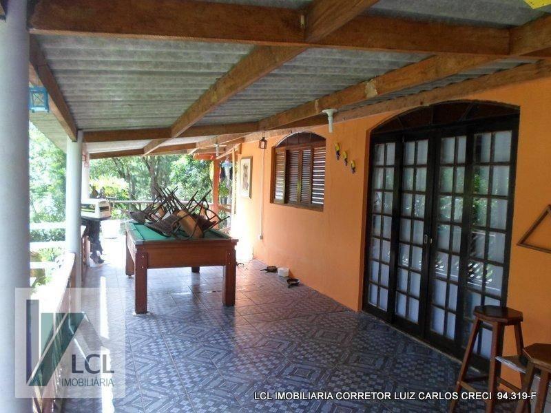 chácara com 2 dormitórios à venda, 2300 m² por r$ 290.000,00 - itaquaciara - itapecerica da serra/sp - ch0007
