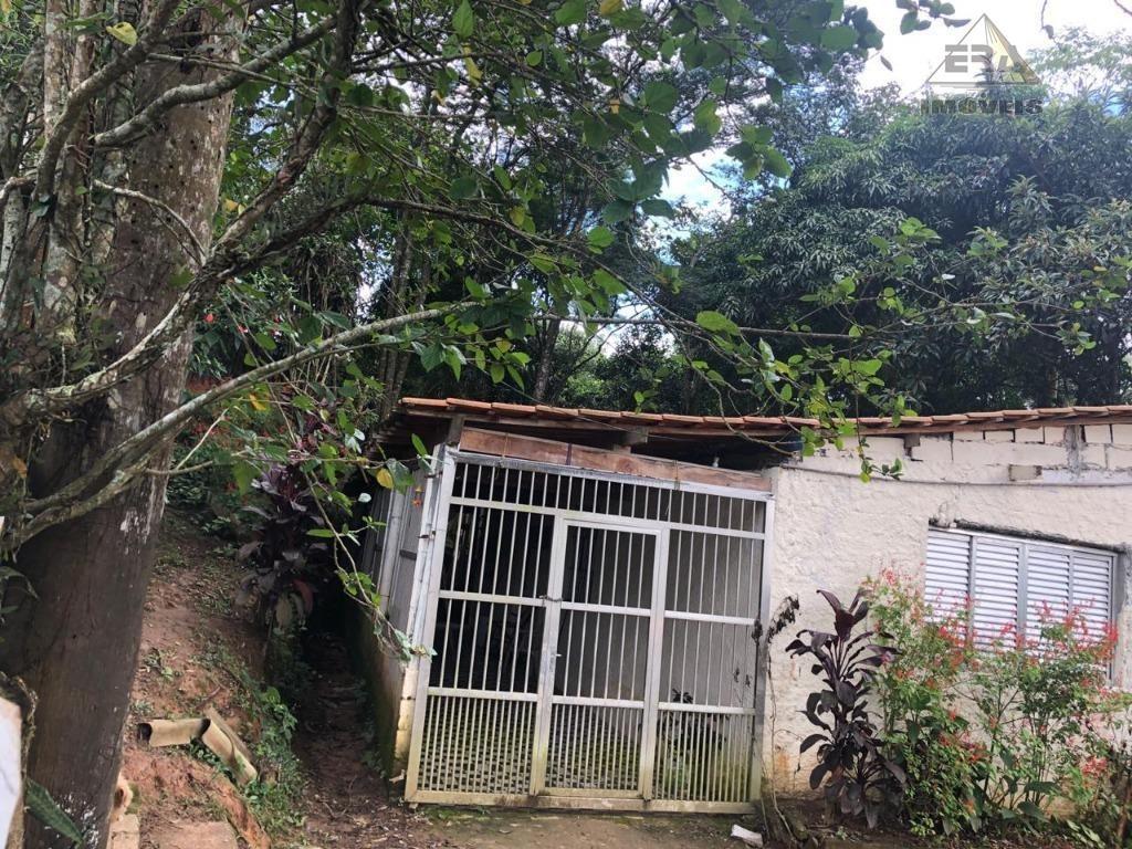 chácara com 2 dormitórios à venda, 2880 m² por r$ 300.000 - jardim santo antônio - arujá/sp - ch0077