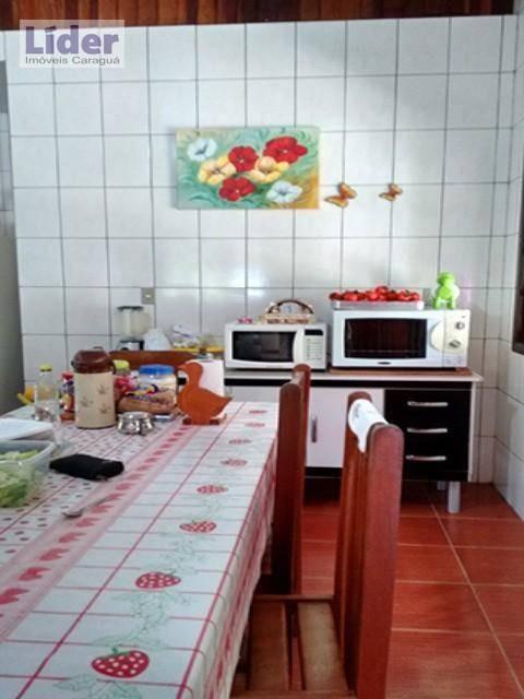 chácara com 2 dormitórios à venda, 300 m² por r$ 400.000,00 - barranco alto - caraguatatuba/sp - ch0001
