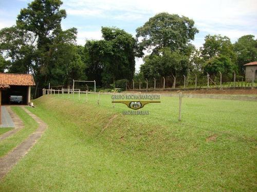 chácara com 2 dormitórios à venda, 3000 m² por r$ 350.000,00 - santo augusto - porto feliz/sp - ch0005