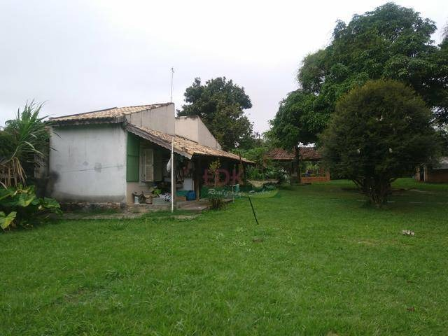 chácara com 2 dormitórios à venda, 3700 m² por r$ 500.000,00 - padre eterno - tremembé/sp - ch0142