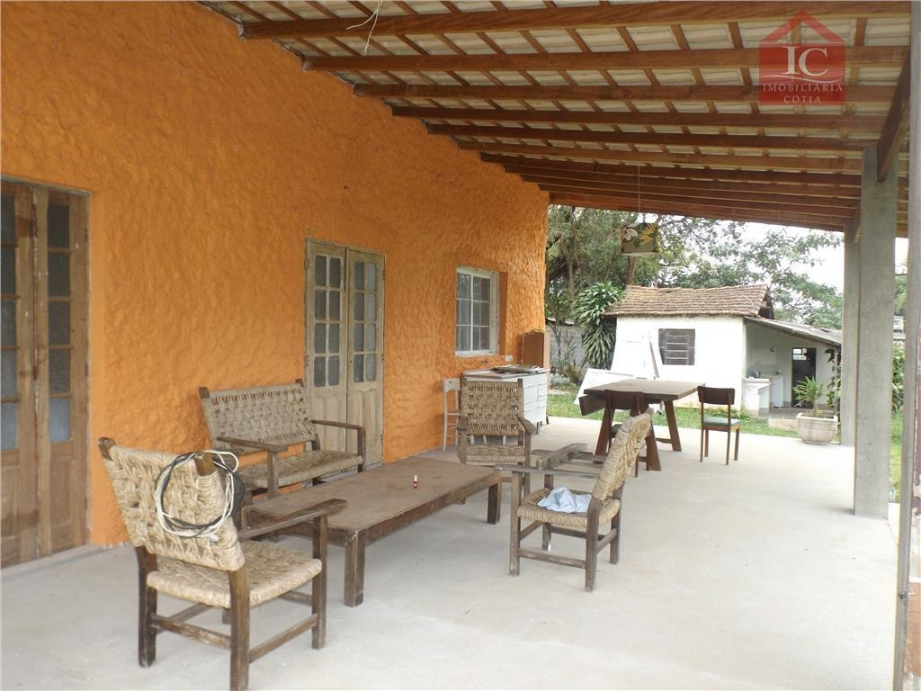 chácara com 2 dormitórios à venda, 4183 m² por r$ 480.000,00 - pereiras - cotia/sp - ch0025