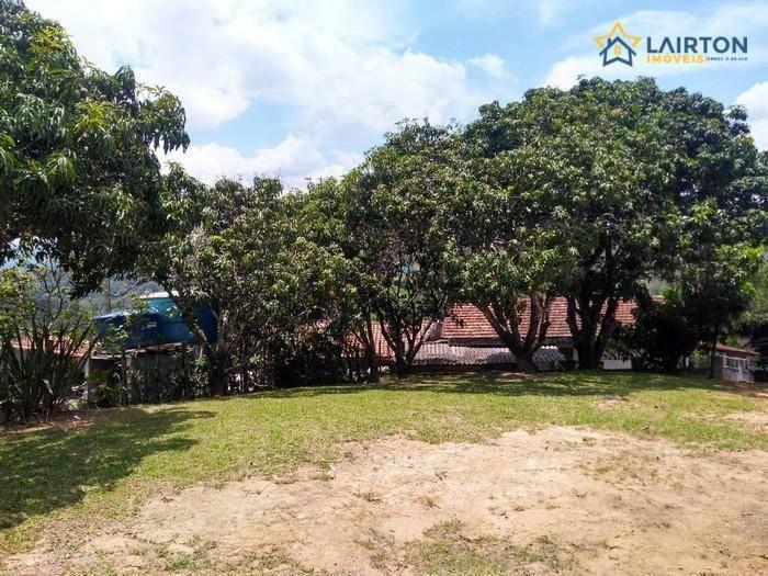 chácara com 2 dormitórios à venda, 5000 m² por r$ 250.000 - campo largo - atibaia/sp - ch1280