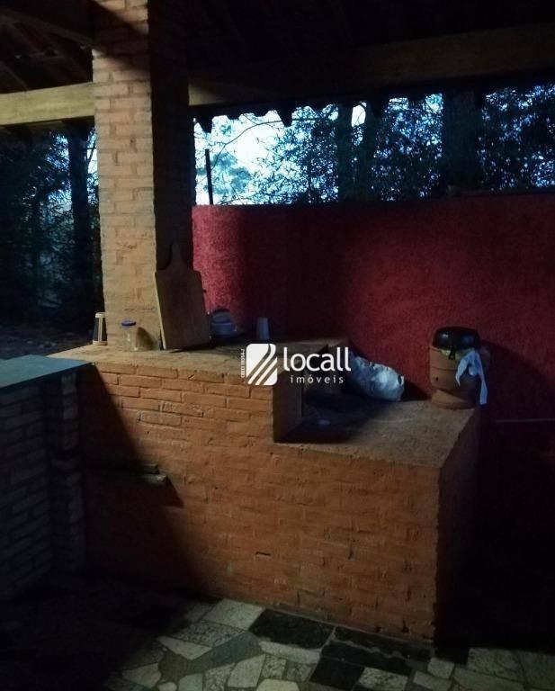 chácara com 2 dormitórios à venda, 5000 m² por r$ 350.000 - centro (engenheiro schmitt) - são josé do rio preto/sp - ch0060