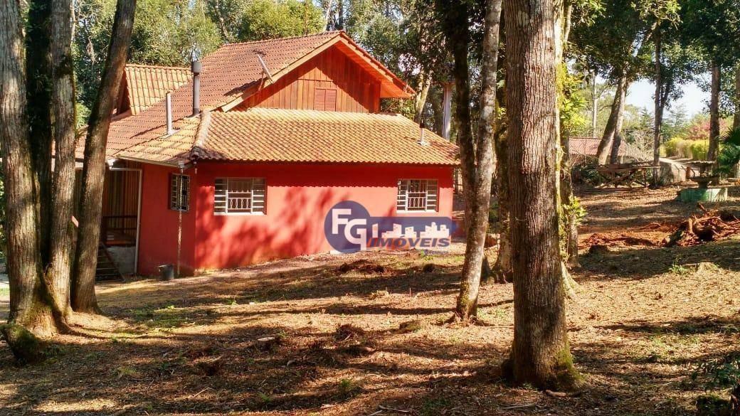 chácara com 2 dormitórios à venda, 5400 m² por r$ 400.000,00 - campestre da faxina - são josé dos pinhais/pr - ch0013