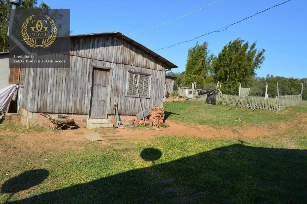 chácara com 2 dormitórios à venda, 56000 m² por r$ 960.000,00 - águas claras - viamão/rs - ch0018