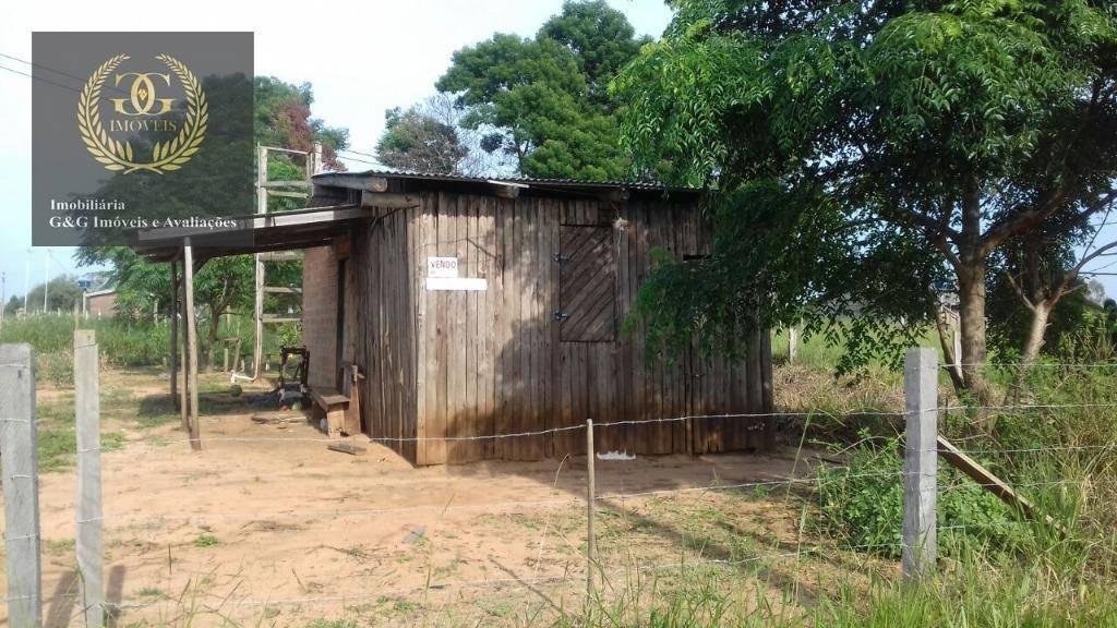 chácara com 2 dormitórios à venda, 700 m² por r$ 40.000,00 - águas claras - viamão/rs - ch0015