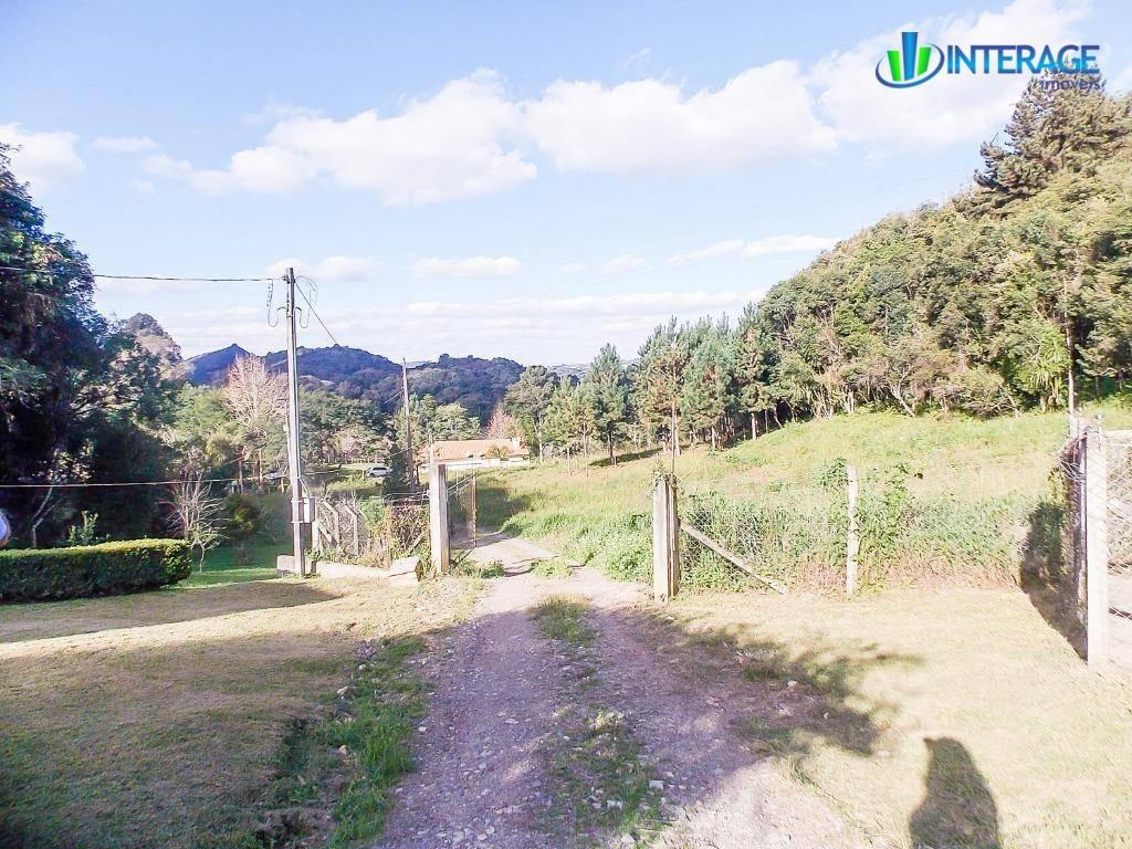 chácara com 2 dormitórios à venda, 8052 m² por r$ 460.000,00 - centro - campo magro/pr - ch0011