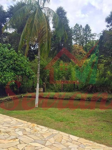 chácara com 20.000 m² em juquitiba lago e piscina