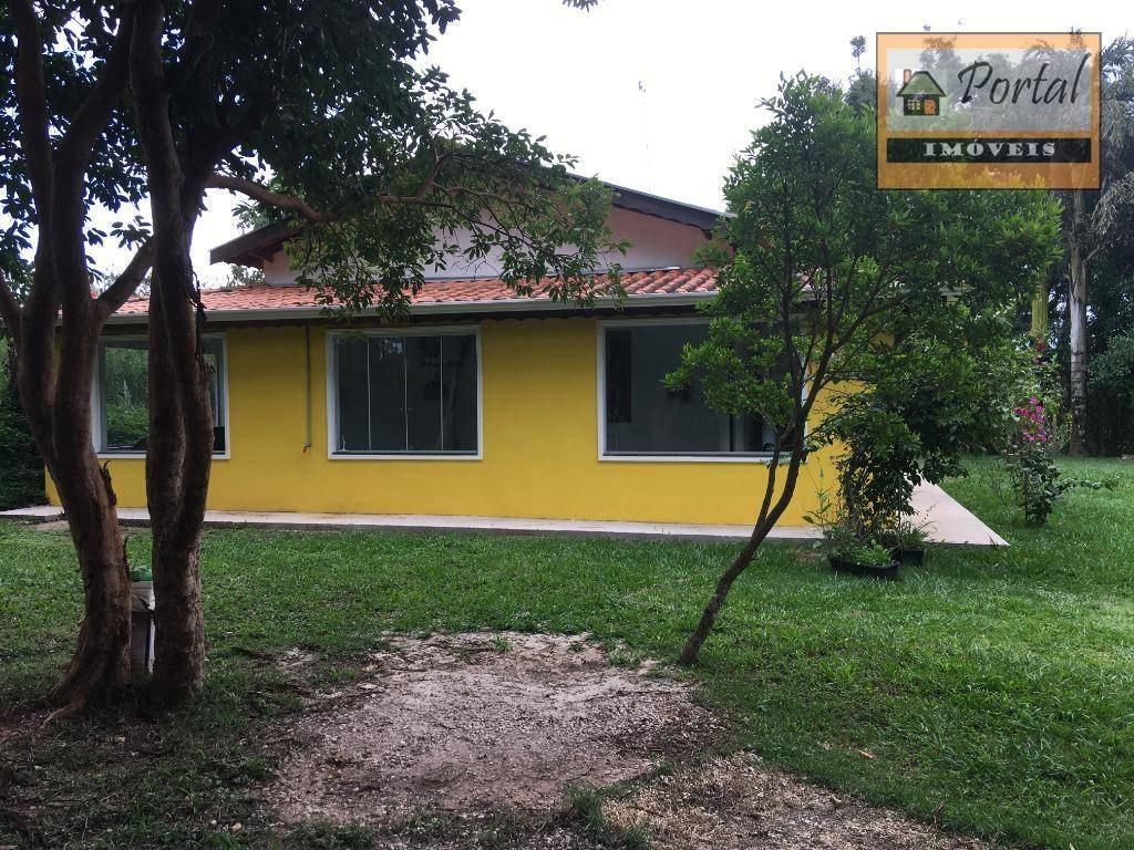 chácara com 2.280 m² - 3 dorm (1 suite) - fogão a lenha - aquecimento solar - estância figueira branca em jarinu-sp. - ch0014