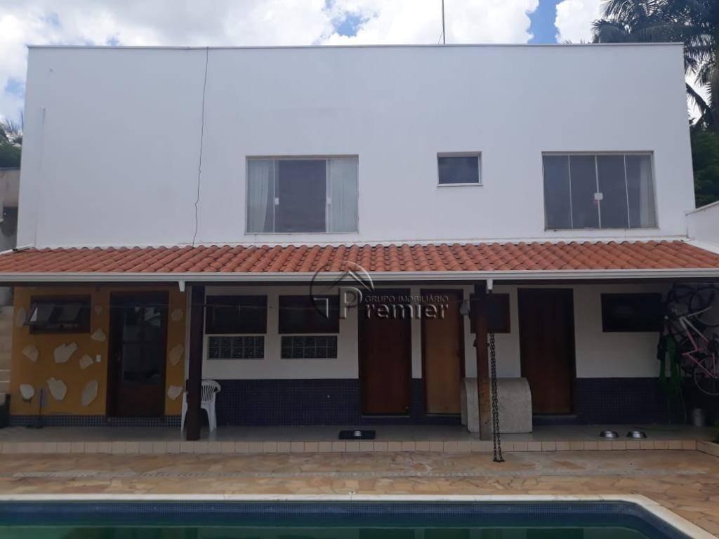 chácara com 3 dormitórios (3 suítes) para alugar, 1000 m² por r$ 5.000/mês - itaici - indaiatuba/sp - ch0166