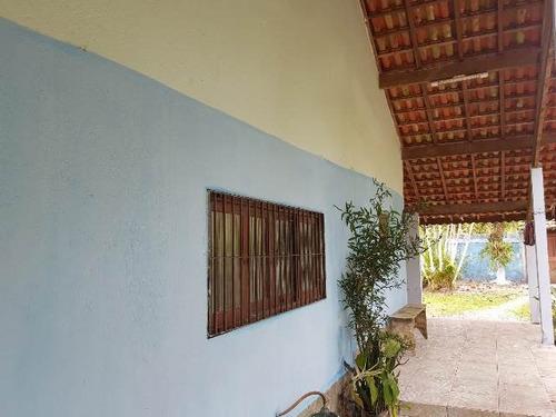 chácara com 3 dormitórios e escritura, itanhaém - ref 4728-p