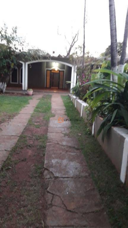 chácara com 3 dormitórios para alugar, 1200 m² por r$ 450/dia - condominio portal dos i - ribeirão preto/sp - ch0014