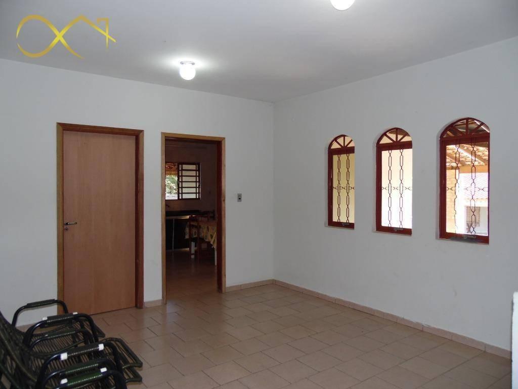 chácara com 3 dormitórios para alugar, 1500 m² - joão aranha - paulínia/sp - ch0071