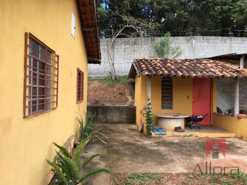 chácara com 3 dormitórios, sendo 1 suíte à venda, 1680 m² por r$ 320.000 - chácara alvorada - bragança paulista/sp* toda documentada** - ch0179