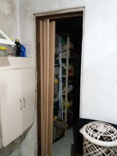 chácara com 3 dormitórios à venda, 1000 m² por r$ 390.000 - condomínio maracanã - santo andré/sp - ch0012