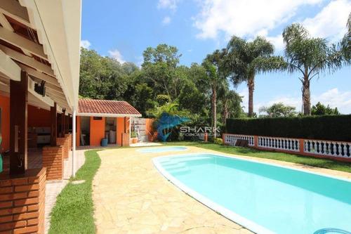 chácara com 3 dormitórios à venda, 1000 m² por r$ 400.000 - zona rural - ibiúna/sp - ch0025