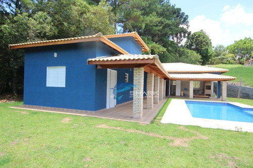 chácara com 3 dormitórios à venda, 1000 m² por r$ 475.000 - zona rural - ibiúna/sp - ch0026