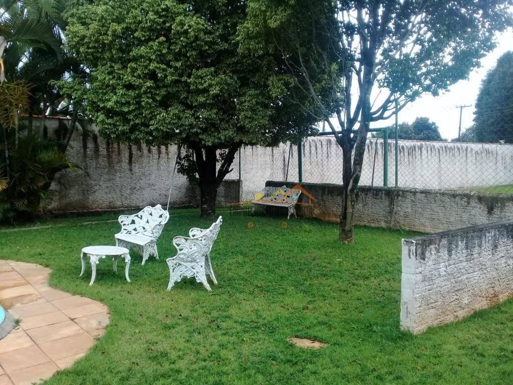 chácara com 3 dormitórios à venda, 1000 m² por r$ 530.000 - chácara flórida - itu/sp - ch0095