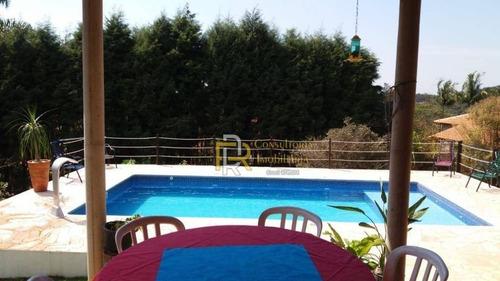 chácara com 3 dormitórios à venda, 1089 m² por r$ 320.000 - le village - ibiúna/sp - ch0002