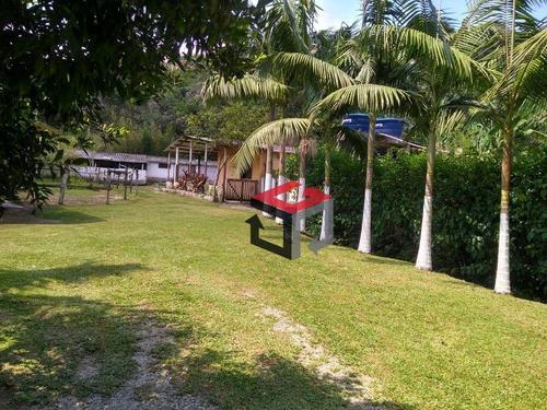 chácara com 3 dormitórios à venda, 11831 m² por r$ 580.000 - estância rio grande - santo andré/sp - ch0021