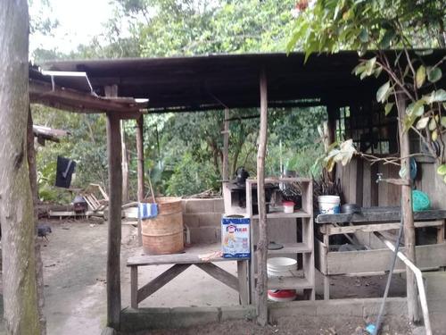chácara com 3 dormitórios à venda, 13000 m² por r$ 250.000 - vila fritiano - jacupiranga/sp - ch0057