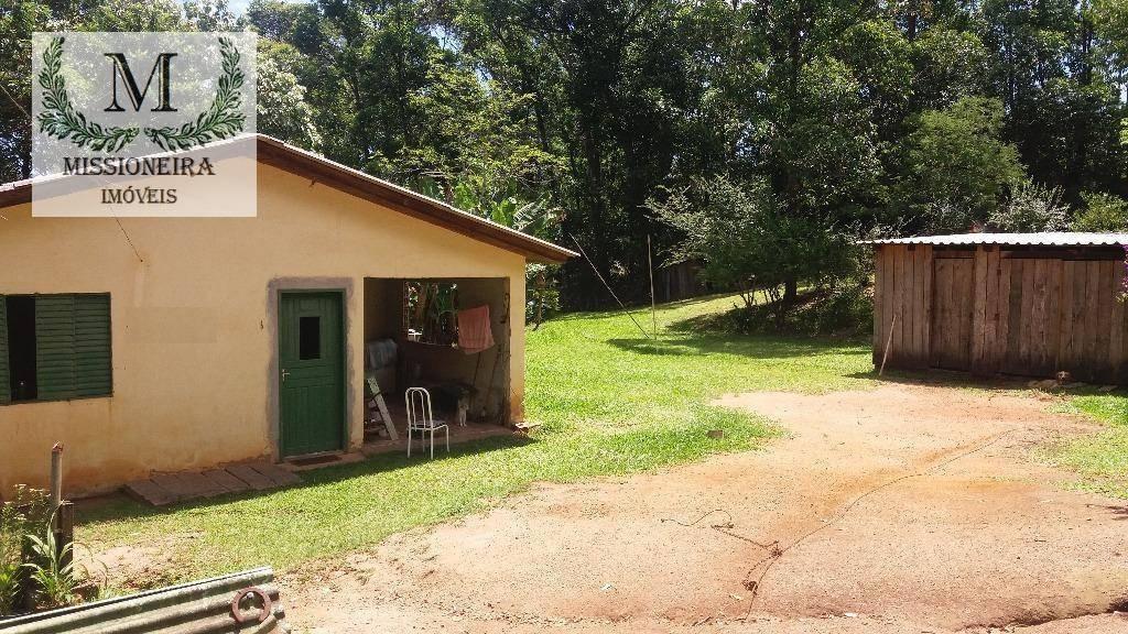 chácara com 3 dormitórios à venda, 1350 m² por r$ 110.000,00 - passo da areia - viamão/rs - ch0004