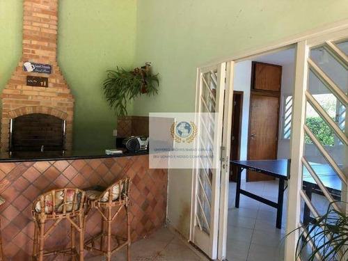 chácara com 3 dormitórios à venda, 1460 m² por r$ 640.000 - loteamento chácaras vale das garças - campinas/sp - ch0059