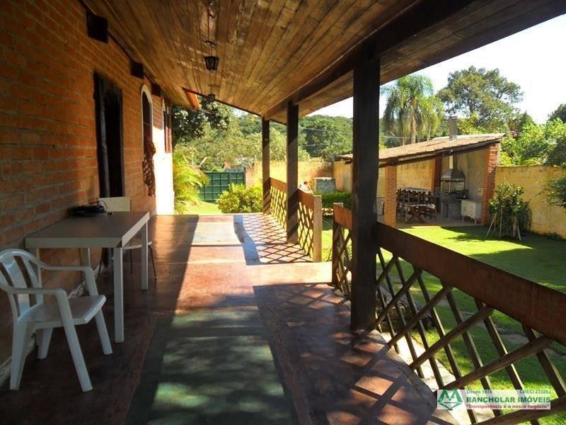 chácara com 3 dormitórios à venda, 1460 m² por r$ 750.000,00 - chácara tropical (caucaia do alto) - cotia/sp - ch0154