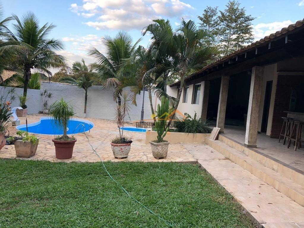 chácara com 3 dormitórios à venda, 1560 m² por r$ 650.000 - condomínio chácaras florida - itu/sp - ch0111