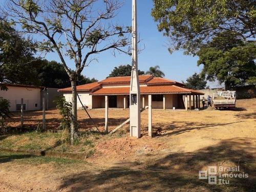 chácara com 3 dormitórios à venda, 1600 m² por r$ 320.000 - condomínio monte verde - itu/sp - ch0093