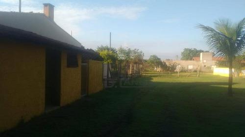 chácara com 3 dormitórios à venda, 1800 m² por r$ 630.000 - vale das garças - campinas/sp - ch0374
