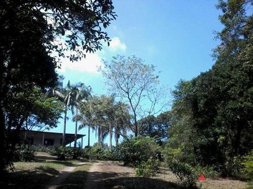 chácara com 3 dormitórios à venda, 18660 m² por r$ 600.000 - parque rio grande - santo andré/sp - ch0009