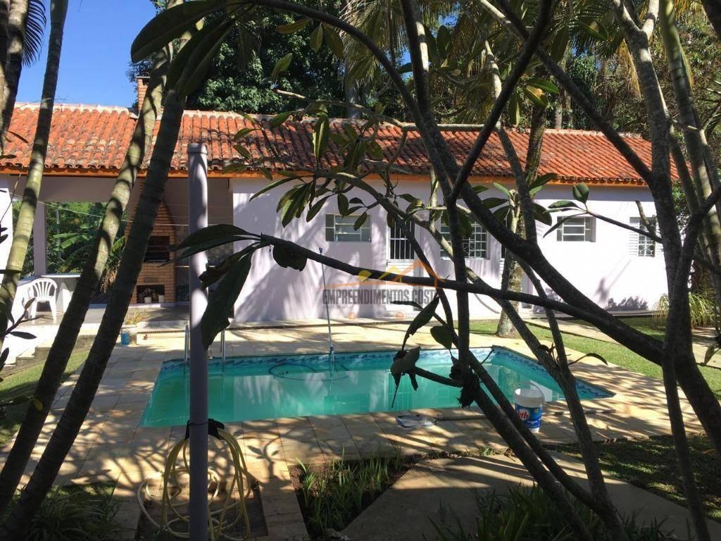 chácara com 3 dormitórios à venda, 2000 m² por r$ 780.000 - chácara flórida - itu/sp - ch0110