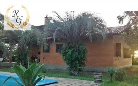 chácara com 3 dormitórios à venda, 240 m² por r$ 1.500.000,00 - águas claras - viamão/rs - ch0010
