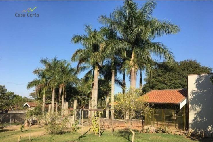 chácara com 3 dormitórios à venda, 2400 m² por r$ 1.050.000 - jatobazeiro - mogi guaçu/sp - ch0077
